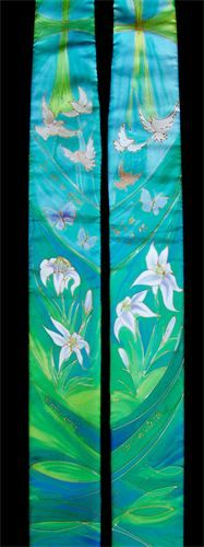 Yvonne Bell Christian Art and Church Vestments - Vestments - Green