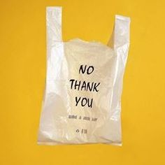 Strong tone of voice used in a powerful way to get the message across to people to stop using plastic bags. To say no thank you when offered one. Something that is destroying our planet. Save Planet Earth, Save Our Earth, Save The Planet, Design Poster, Graphic Design, Back To Nature, Plastic Pollution, Ocean Pollution, Design Graphique