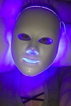 At-home LED light face mask #JessicaAlba #Wellness