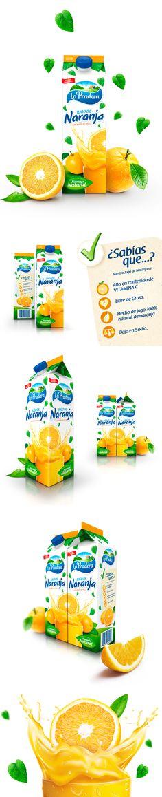 Jugo de Naranja #Design