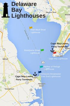 Come aboard and sail past beautifully restored Delaware Bay landmarks