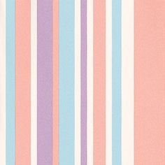 Its All You (IT15016) - Galerie Wallpapers - A striped wallcovering, with stripes in varying widths, shown here in pale shades of pink, purple, blue and white. Other colourways are available. This product has a free pattern repeat. Please request a sample for a true colour match.