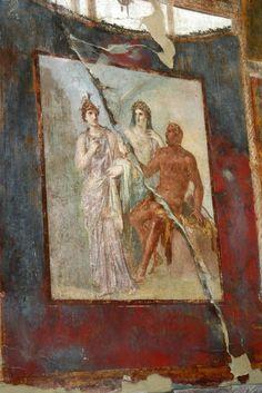 Herculaneum (Ercolano)- fresco