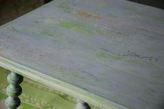 Tafeltje in Chalkpaint
