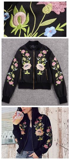 Floral Nature Embroidery Jacket from Pasaboho - $79 ( Free Shipping Worldwide )