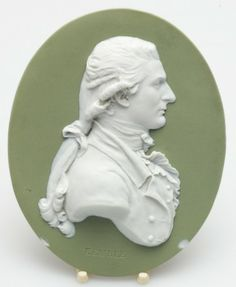 Portrait Medallion - John Philip Kemble, English actor and brother of Sarah Siddons. 1757 - 1823. Attributed to John Flaxman.