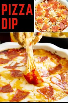 This hot dip appetizer fed our whole crowd for the game day celebration. I made … – Appetizers Appetizers For A Crowd, Appetizer Dips, Appetizers For Party, Appetizer Recipes, Party Recipes, Tailgate Food, Tailgating Recipes, Best Party Dip, Pepperoni Pizza Dip
