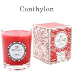 Vela con olor de frutos rojos. Scented candle red fruit.