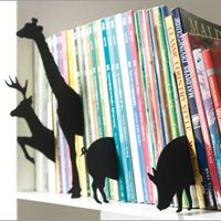 Book Marks for your library - +d Animal Index. Designed by Hiroshi Sasagawa for +d design house, Japan.