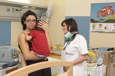 Nell'area pediatrica