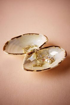Loving this Seashell Trinket Dish @BHLDN #BHLDNwishes