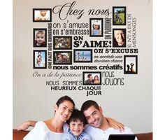 Sticker Chez Nous On S'aime ... en photos