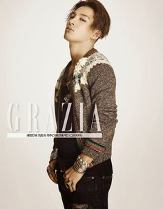 TAEYANG - Magazine「Grazia Korea / JUNE 1st ISSUE」