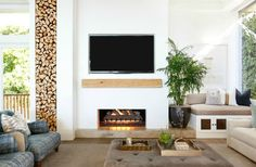 Excellent Pics traditional Fireplace Remodel Tips 25 Stunning Remodel Fireplace Ideas to Upgrade Winter Home Decor Cozy Fireplace, Living Room With Fireplace, Fireplace Design, Fireplace Ideas, Mantle Ideas, Country Fireplace, Craftsman Fireplace, Cottage Fireplace, Simple Fireplace
