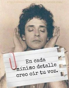 Gustavo Cerati.  esa voz inolvidable que eriza mi piel