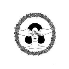 Conheça Henn Kim e suas ilustrações em P&B repletas de subjetividade - Follow the Colours