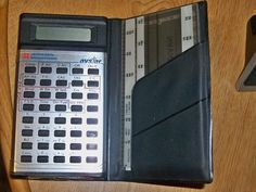Vintage 1980 Jeppesen Sanderson AVSTAR Navigation Calculator Texas Instruments