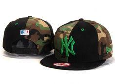 Casquette NY New York Yankees MLB Snapback Camo Noir Casquette New Era Pas  Cher 4d5479ebf367