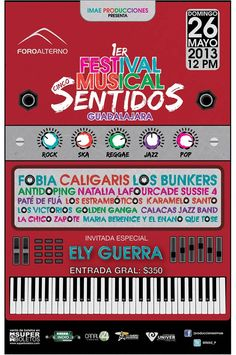 Festival Sentidos Musicales 2013 (GDL)