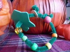 Paula's Preschool and Kindergarten: What Can You Do With a Pumpkin? From Decoration to Dessert, and even Decomposition - Pumpkin life cycle bracelet