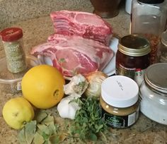 Citrus Brined Pork Roast w/ Peach Mustard - Garden to Table idea / Pike Nurseries