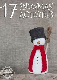 17 {Really Fun} Snowman Activities - Kids Activities Blog