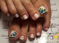 30 Fotos de Unhas Decoradas do instagram Cute Nail Art Designs, Pedicure Designs, Pedicure Nail Art, Toe Nail Designs, Toe Nail Art, Pretty Toe Nails, Cute Toe Nails, Aycrlic Nails, Feet Nails