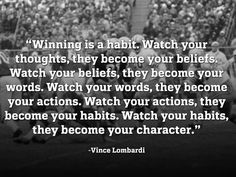 Vince Lombardi Quotes on champions | Pin by Elliot Davis on Words of Champions | Pinterest