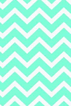 Mint chevron background
