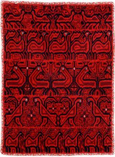 Textil mazahua del Estado de México