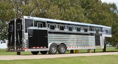 4-Star 30' Deluxe Model 6H Side Rear Load and Full Width Rear Tack (800) 848-3095