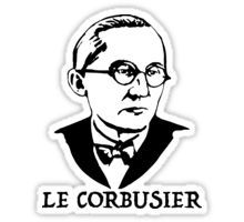 'Le Corbusier ' by MichaelRellov Famous Historical Figures, Le Corbusier, Modern Architecture, Writer, Iphone Cases, Urban, French, Stickers, Design