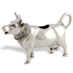 Pewter Cow Creamer