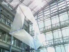 Video - Flying object flips inside out to propel itself
