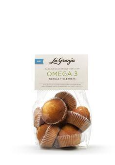 Magdalenas enriquecidas con Omega3. #cupcakes #food #instafood #breakfast #healthy #delicious #gourmet #foodie #bizcocho #diet #omega3