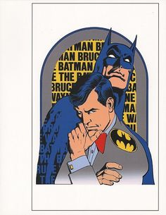 Batman/Bruce Wayne by Jose Luis Garcia-Lopez.