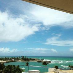 Sunny day in paradise! #CaribeHilton  #PuertoRico  #seepuertorico @caribehilton1