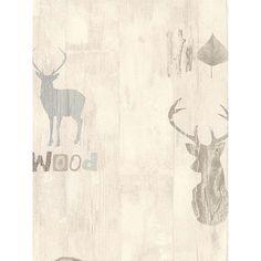 BuyGalerie Skandinavia Stag Wallpaper, 51145201 Online at johnlewis.com