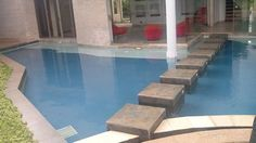 Penetron Integral Capillary Waterproofing System--Testing in progress of a swimming pool waterproofed by Penetron Intergral Caapillary System in Nairobi