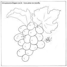 pintura em tecido uvas - Pesquisa Google