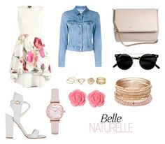 """""""Natural """" by katherine-macedo on Polyvore featuring Belleza, Paul Andrew, Acne Studios, Givenchy, Emporio Armani, Red Camel y Dollydagger"""