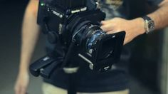 Câmera de médio formato com back digital em ação. Mamiya RZ67 ProII com adaptador Tilt/Shift para fotos de alimentos. Imagens impecáveis