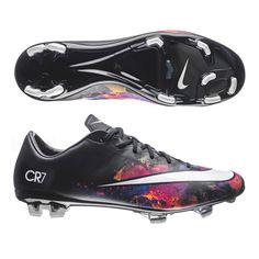 Nike Mercurial Veloce II CR7 FG Soccer Cleats (Black Total Crimson Metallic  Silver White) d78478e4520be