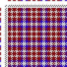 draft image: Figure 105, A Manual of Weave Construction, Ivo Kastanek, 2S, 2T
