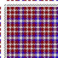 draft image: Figure 105, A Manual of Weave Construction, Ivo Kastanek, 2S, 2T