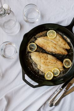 Sole Meunière Recipe from The Ancestral Table - Rubies
