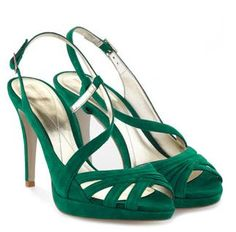 Emerald Green Dress Shoes For Women | ... disappointed when I did, because look at what I found: green shoes