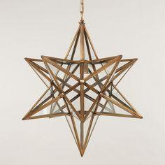 Star lantern (CL0213.BR)| Vaughan Designs