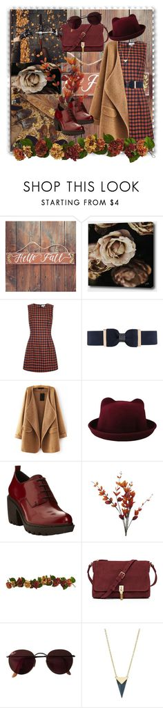 """Fall time"" by loreense ❤ liked on Polyvore featuring BCBGMAXAZRIA, City Chic, Opening Ceremony, Elizabeth and James, Ray-Ban, Alexis Bittar and loreensedaily"