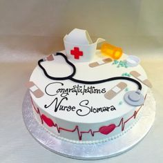 Image result for nursing graduate cake